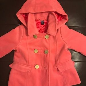 Baby Gap Peacoat with removable hood